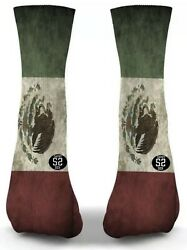 Mexican Flag Novelty Mens Socks Brand New Straight From Production Line $19.99