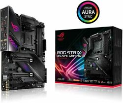 ASUS AMD AM4 ROG Strix X570 E Gaming ATX Motherboard with PCIe 4.0 WiFi 6 2.5G $319.00