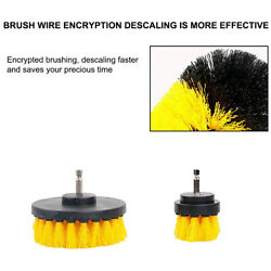 3Pcs 1Pc Power Scrubber Electric Drill Brush Tile Floor Glass Clean Tool Utility $4.16