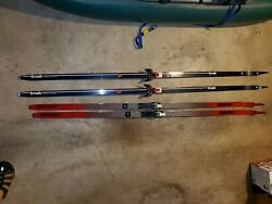Cross country skis $40.00