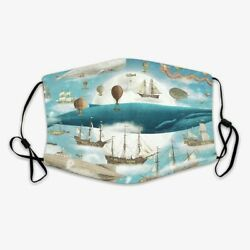 Ocean Meets Sky Hand Made Washable and Breathable Face Mask $10.99