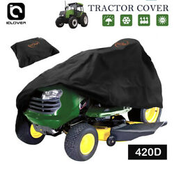54quot; Riding Lawn Mower Tractor Cover Waterproof Heavy Duty UV Protector Garden $24.99