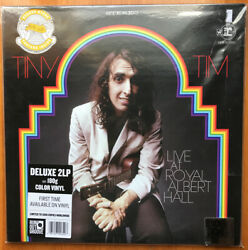 Tiny Tim LIVE AT ROYAL ALBERT HALL Record Store Day Colored Vinyl BRAND NEW LP $29.99