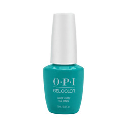 OPI Gel Color Neon Collection Dance Party Teal Dawn GC N74 $16.99