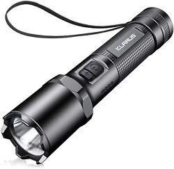 KLARUS Rugged Alloy EP10 990000 LM LED Rechargeable Police Tactical Torch $22.45