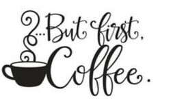 Kitchen Coffee House Cup Wall Stickers Vinyl Decal Mural Home Decor Removable $4.99