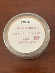 Sheer Cover Latte Mineral Foundation 1.5g Travel Size New Sealed Loose Powder $12.99