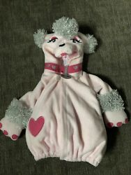 Old Navy Poodle Costume FiFi pink puppy dog baby girls fits 6 12 months Jacket $8.99