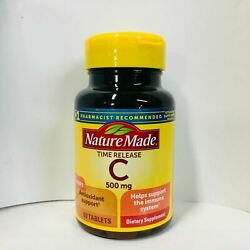 Nature Made Vitamin C 500mg Timed Release with Rose Hips 60 Tablets $11.88