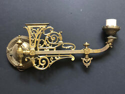 RARE Vintage Metal BRASS ARM *SWIVEL Wall LIGHT Antique Sconce Wall Electric $99.95