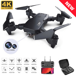 RC Quadcopter GPS RC Drone Camera 5G HD 4K WIFI FPV Foldable Flying Drones Toys $89.67