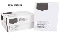 Business Paper White Multipurpose Printing Standard Computer A4 Office 1500 Pack $65.74