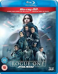 Rogue One: A Star Wars Story 3D 2D Blu ray 2 Discs Region Free *BRAND NEW* $22.89
