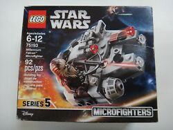 New Sealed LEGO Star Wars Millennium Falcon Microfighter Set 75193 Crushed Box $19.99