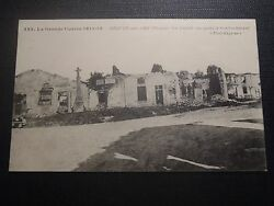 CPA Beauzé On Playground the Big Street After The Bombing $4.91