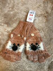 NWT Claires fox gloves $5.50