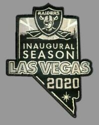 2020 LAS VEGAS RAIDERS PATCH NEW INAUGURAL SEASON JERSEY STYLE EMBROIDERED NFL $10.55