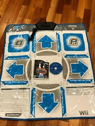 Dance Dance Revolution: Hottest Party for Nintendo Wii Game amp; Mat Works Well $30.00