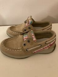 Toddler Little Girls Size 9 Sperry Top Siders $9.99