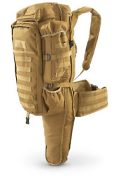 Cactus Jack Tactical Assault Coyote Tan Backpack w padded rifle compartmentnew $61.99