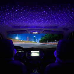 USB Car Accessories Interior Atmosphere Star Sky Lamp Ambient Night Lights US $8.54