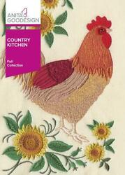 Country Kitchen Anita Goodesign Embroidery Machine Design CD NEW 39AGHD $13.99