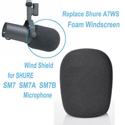 Replace Shure A7WS Pop Foam Windscreen for SHURE SM7B SM7 SM7A MIC Wind Shield $5.10