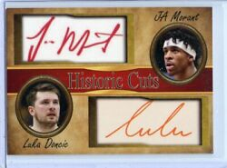 JA MORANT and LUKA DONCIC 2020 LIMITED EDITION SHORT PRINTED ROOKIE CARD $4.95