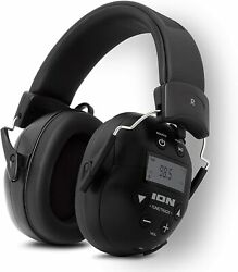 ION Tough Sounds II Hearing Protection Headphones w Bluetooth amp; AM FM Radio $64.99