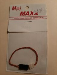 MPI MAXX Quality Gold Pin RC Connector $4.00