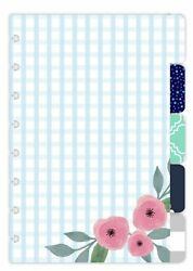 TUL Paper Tab Dividers Assorted Colorful Designs Pack of 5 Dividers Junior... $14.99