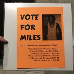 NEW Vote For Miles Davis Selections From The On The Corner Sessions LP Jazz $55.00
