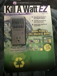 New P3 Kill A Watt P4460 Electricity Usage Monitor $ Save On Your Elctric Bills $32.99