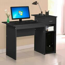 Standard simple office student desk dorm furniture Black $95.00