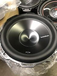 ROCKFORD FOSGATE PUNCH P3D4 12 SUB 12quot; DUAL 4 OHM 1200W SUBWOOFER NEW In Box $205.00