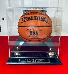 Michael Jordan Autograph Spalding Official Game Ball *COA and Case with STUB *96 $4023.99