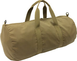 USMC Coyote 24quot; x 12quot; Fully Lined Double Layered Cordura Duffel Bag Made in USA $10.00