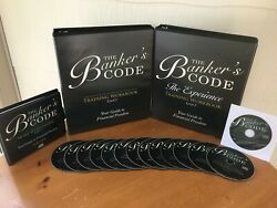 THE BANKERS CODE PRIVATE MONEY COURSE BY GEORGE ANTONE 2 MANUALS amp; 14 CD#x27;S $395.00