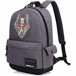 SEPTWOLVES Laptop Backpack Open Computer Travel Casual Daypack College Clothing