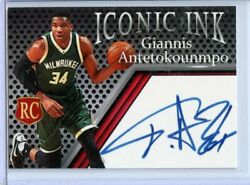 GIANNIS ANTETOKOUNMPO 2013 LIMITED EDITION ROOKIE CARD VARIATION GREEN UNI $3.95