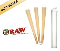 RAW Classic 98 special Size Pre Rolled Cones 50 Pack with free tube $12.97