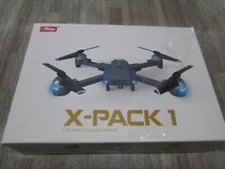 ATTOP X PACK1 2.4 MINI FOLDABLE DRONE W CAMERA FOR BEGINNER SEALED NEW $39.99