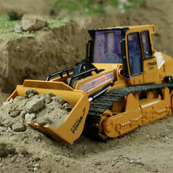 1:12 RC Excavator Shovel Remote Control Construction Bulldozer Truck Toy Light $44.14