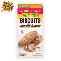 Nature Valley Biscuit Sandwich with Almond Butter 30 ct. $19.47