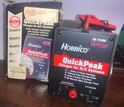 Hobbico Hcam3005 Quick Peak Charger For RC Systems NIB BOX HAS WEAR $35.99