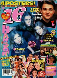 Hanson On In 16 Magazine Complete May 1998 Issue $20.00
