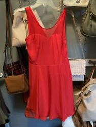Express Red Cocktail Dress Size 2 Worn Once $9.00