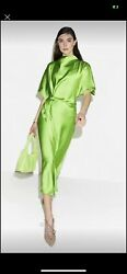 Rhode Maxi Dress Stine Goya Lime Green Size L $178.00