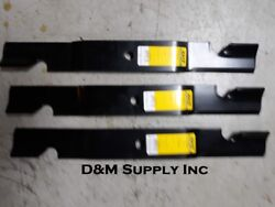 Set of 3 Commercial Lawn Mower Blades to Fit Toro Z Master 52quot; 133 2134 $45.28