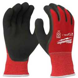 Milwaukee 48 22 8910 Cut Level 1 Winter Insulated Gloves Small New $10.99